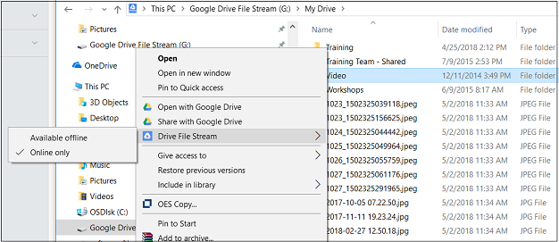 How To Google Drive File Stream Replaces Google Drive Sync