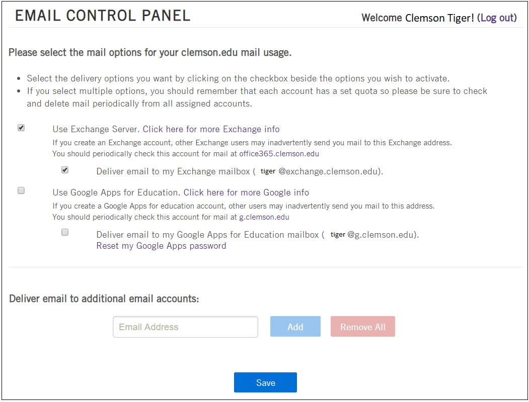 HOW TO: Set up or Configure Email Accounts and Update Email Forwarding  Settings