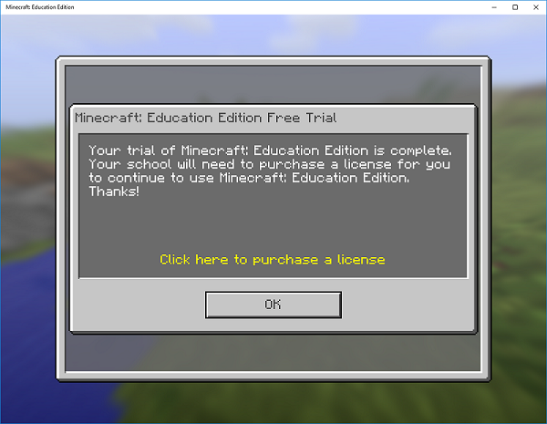 Minecraft For Education Instructions