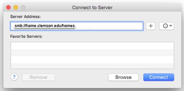 Mac Personal Web Space