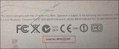 Mac Serial Number