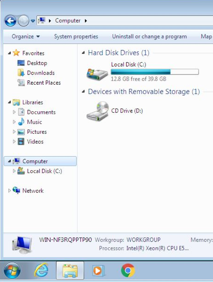 Manually Connecting to your Home Directory (U: Drive) – Windows 7 UI