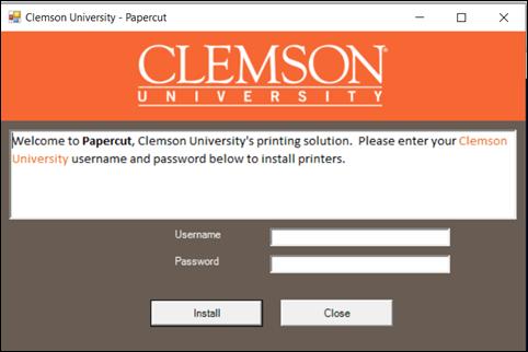 Papercut Install