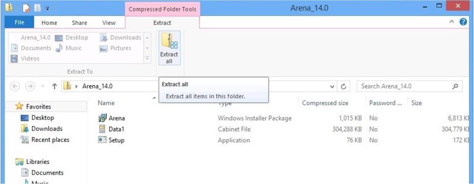 Arena 14 0 Installation Instructions (Windows 8/8 1)