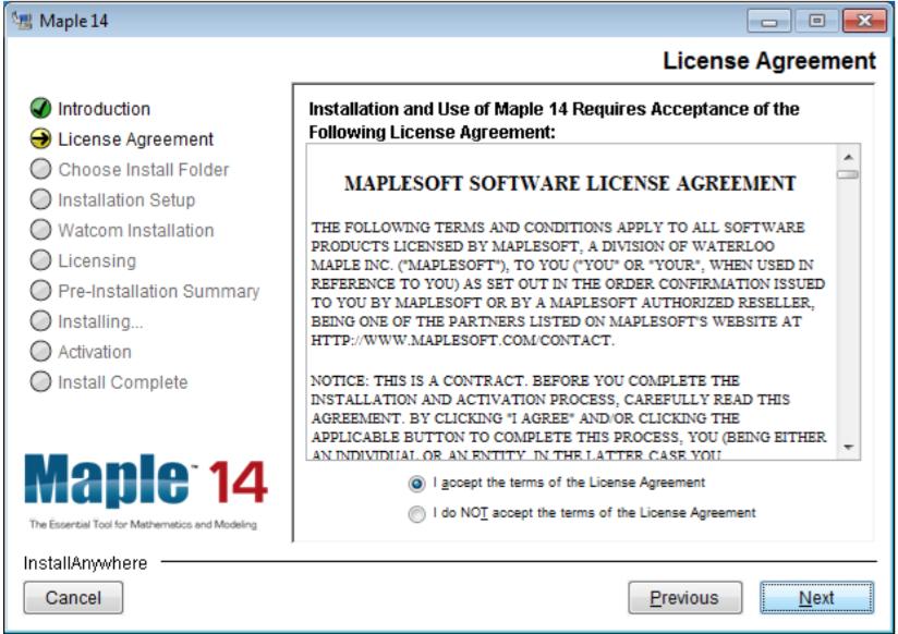 how to install maple 14 rh hdkb clemson edu