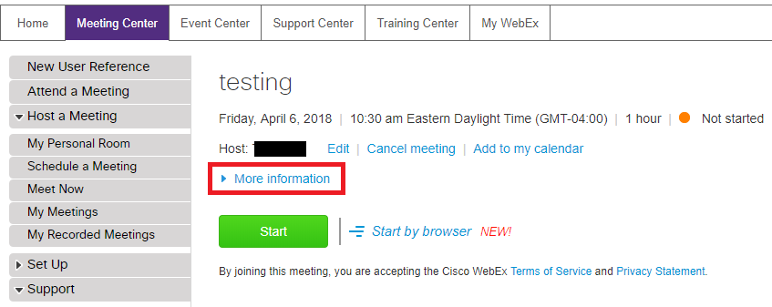 Using Cisco WebEx for Video and Teleconferencing
